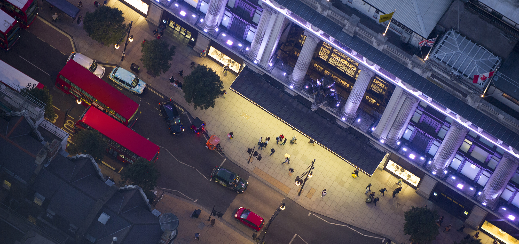 Late-night shopping? Indulge yourself in good, old-fashioned style at Selfridges.